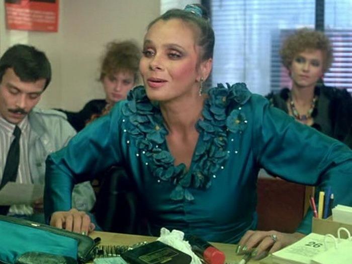 Роль Зины, сыгранная Любовью Полищук, считается самой лучшей из работ актрисы.   Фото: etsphoto.ru/.
