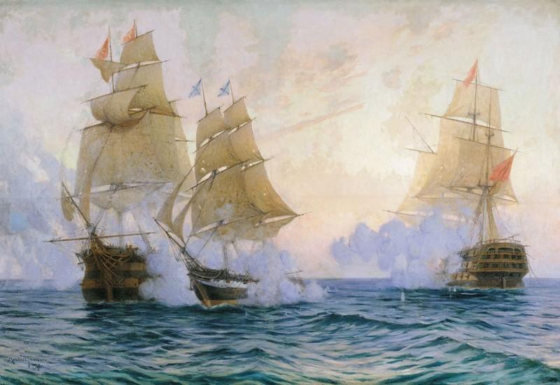 Победа русских в сражении у Босфора в ходе русско-турецкой войны (1828–1829)