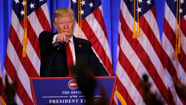 Месть Трампа: Представителей СМИ не хотят пускать в Белый дом