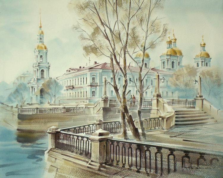 Блистательный Санкт-Петербург. Художник Кузема Константин Станиславович