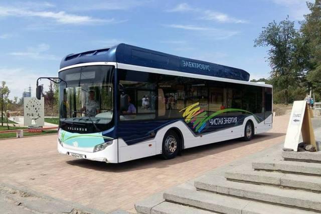 Volgabus представил свой первый электробус