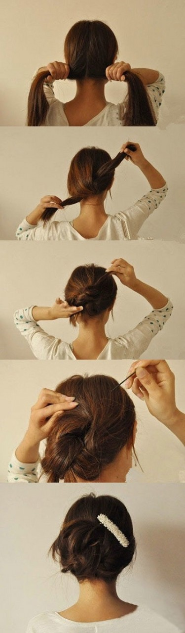 25 хитростей для простой укладки волос. Даже лентяйки превратятся в красоток за пару минут!