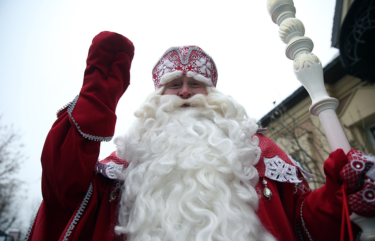 Кадыров пригласил Деда Мороз…