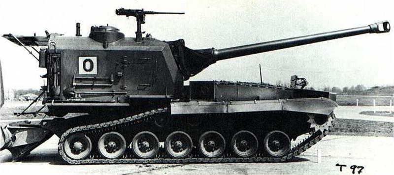 Самоходная артиллерийская установка M53 (США)