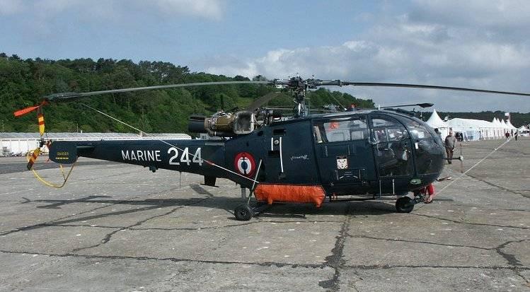 ВС Франции заменят вертолеты Alouette III арендованными гражданскими машинами