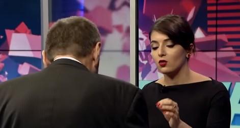Выпивший украинский депутат пришел на ток-шоу и сорвал эфир