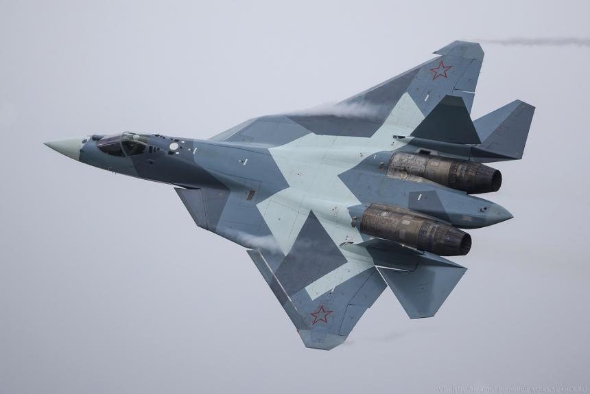 NI: Новый «козырь» ПАК ФА провернёт сопла «Раптору» и F-35