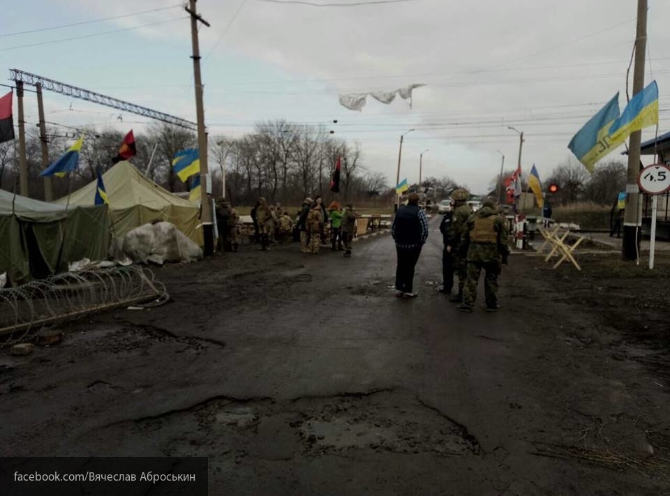Украина несёт серьёзные убытки от торговой блокады Донбасса