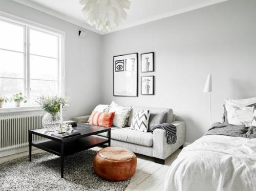 Дизайн маленькой квартиры - гостиная
