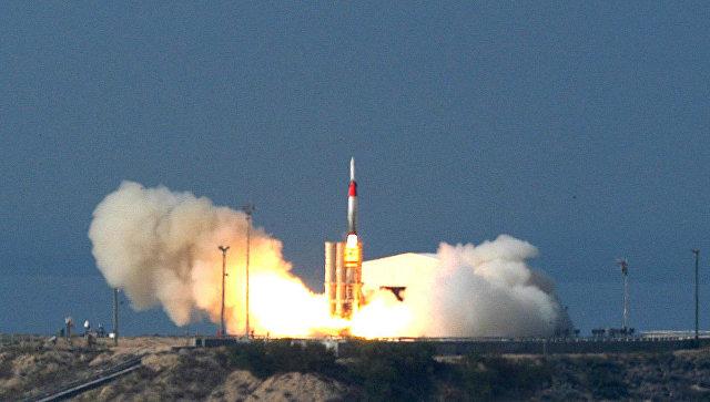 """Израиль получил комплекс """"Хец-3"""", способный сбивать ракеты в космосе"""