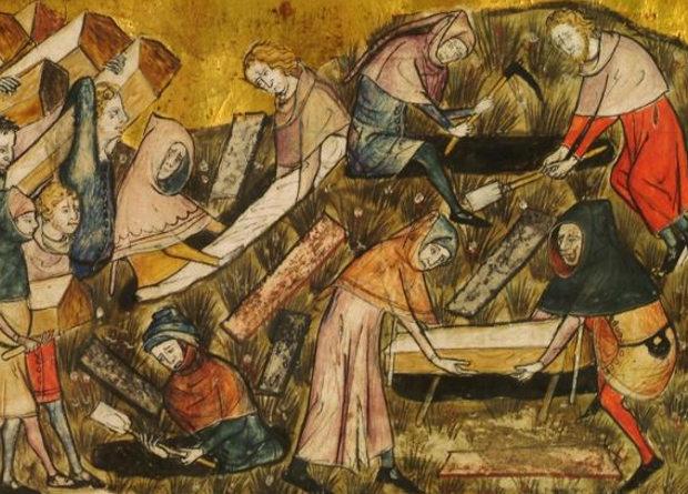 Ученые не нашли следов массовых смертей в период Юстиниановой чумы