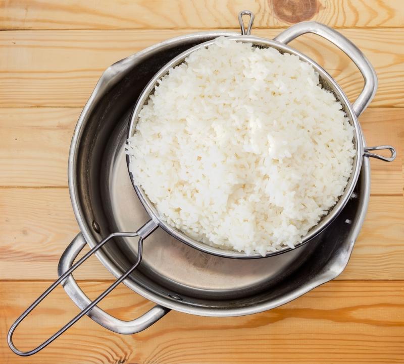 рис со шпинатом по гречески