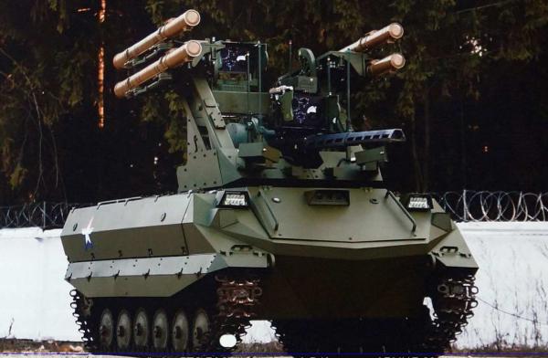 В США назвали самых опасных российских боевых роботов