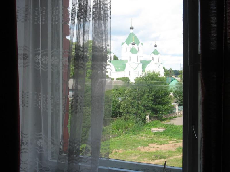 Вид из окна городок, история, провинция, танки, фотоотчёт, якоря