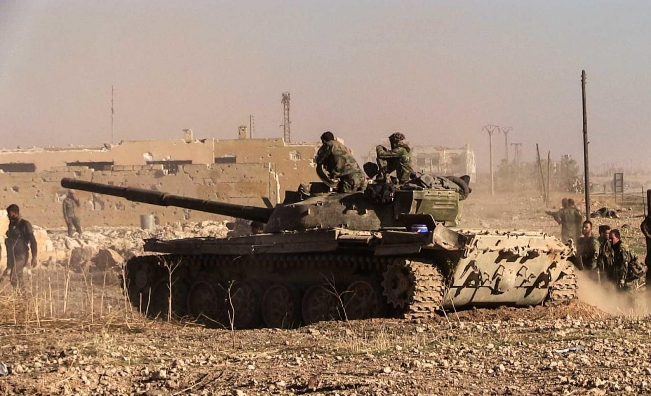Обзор ситуации на фронтах сирийской войны