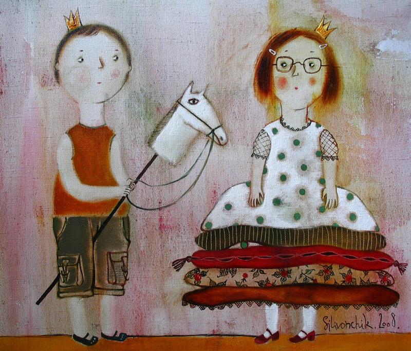 Мир чудес белорусской художницы Анны Силивончик