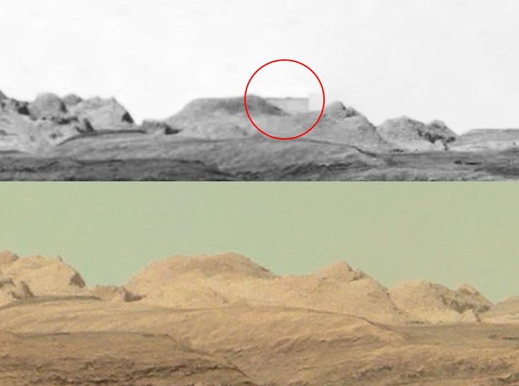 Цензоры NASA стерли с фотографии с Марса прямоугольную загадочную структуру?