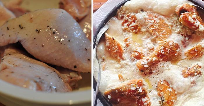 Чкмерули — блюдо грузинской кухни. Готовим курицу и удивляем домашних