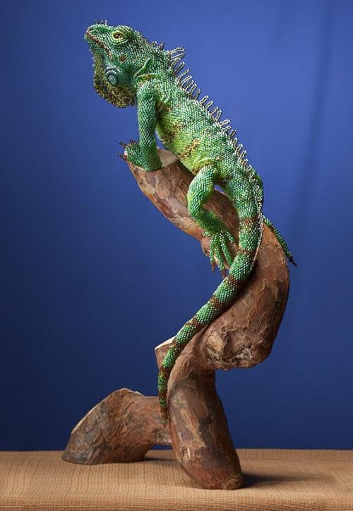 Удивительные реалистичные скульптуры из бисера от Жанны Васильевой