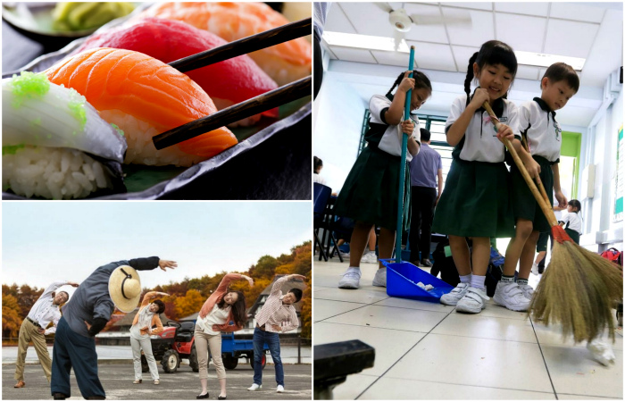 Причуды японцев, которые не перестают удивлять.