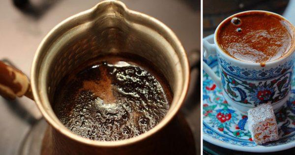 Сестра привезла из Турции рецепт приготовления настоящего кофе по-турецки. Всё дело в…