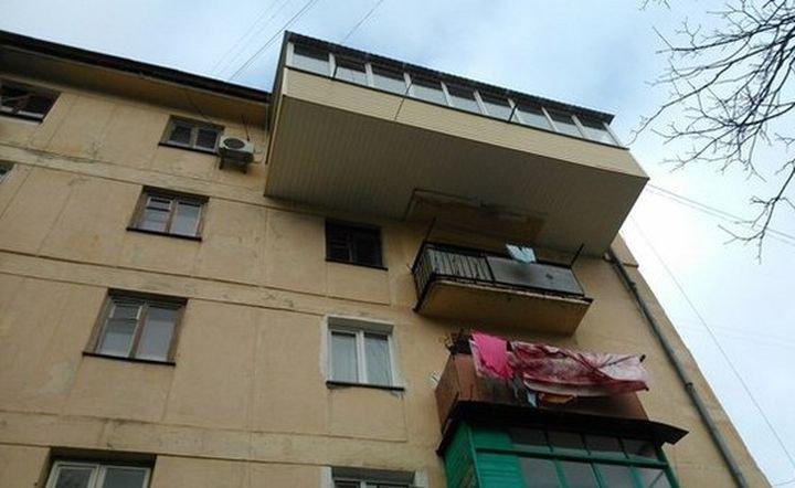 Русские балконы - самые крутые балконы в мире!