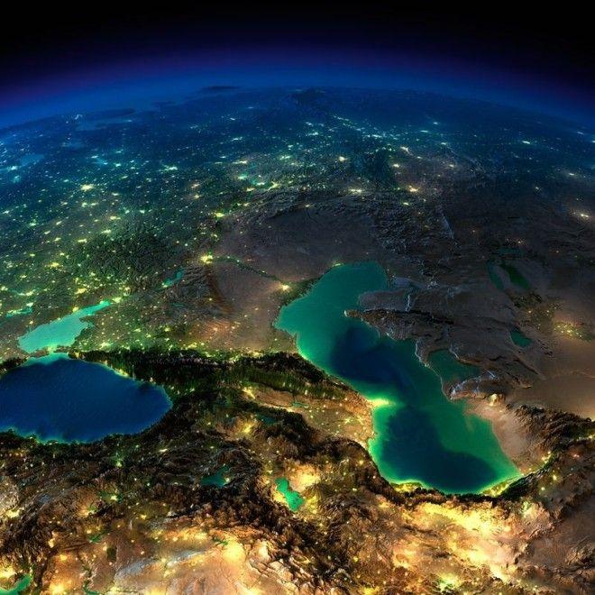 Любопытные факты о Каспийском море