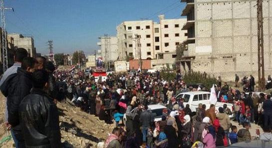 Сирия: впровинции Дамаск идет процесс возвращения жителей всвои дома