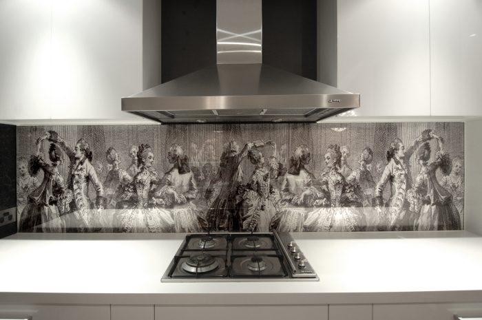 Необычные идеи по оформлению кухонного фартука