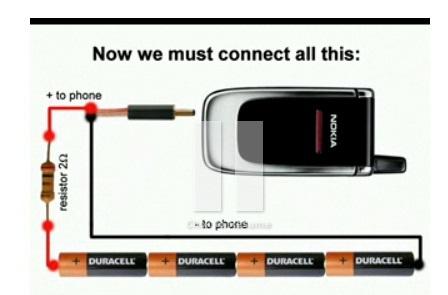 походный зарядчик для телефона