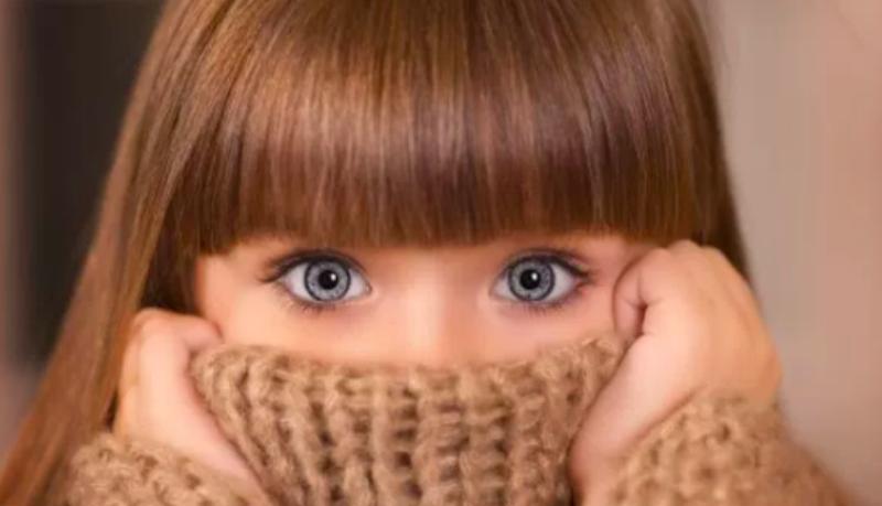 6-летняя россиянка покорила модельный мир ангельской внешностью