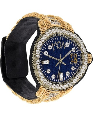 Браслет - часы от Walter Van Beirendonck