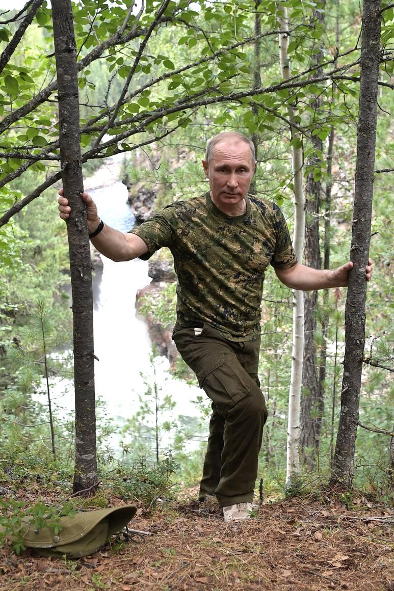 Путин и Поездка в Тыву 1–3 августа (полная версия)