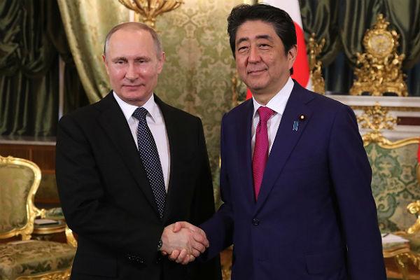 Путин встретится с Абэ на саммите G20
