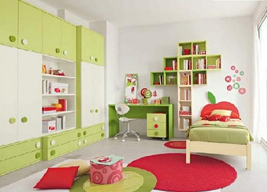 Как обустроить детскую комнату. Интерьер детской.