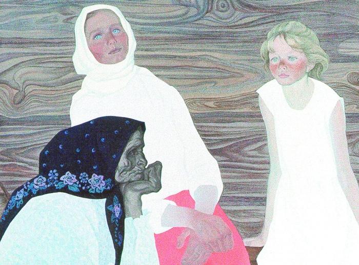 Завораживающие картины армянки, влюблённой в русский север