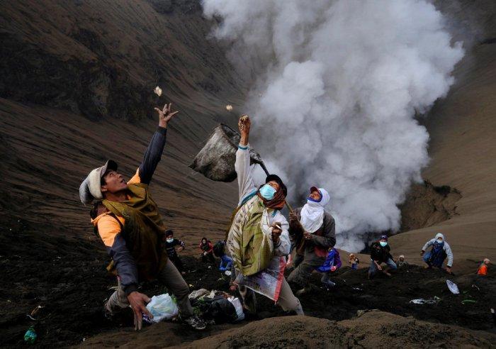Голодный вулкан Бромо