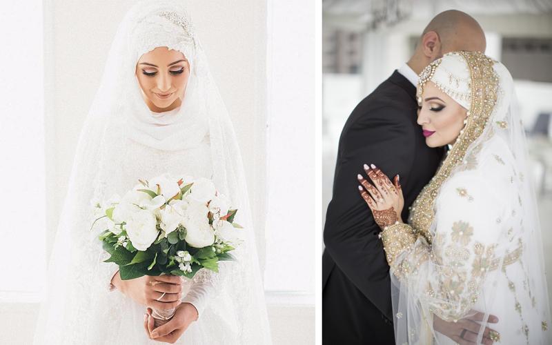 Невесты, которые выходили замуж в хиджабе