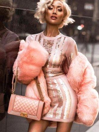 Total pink looks или в розовом —   с ног до головы