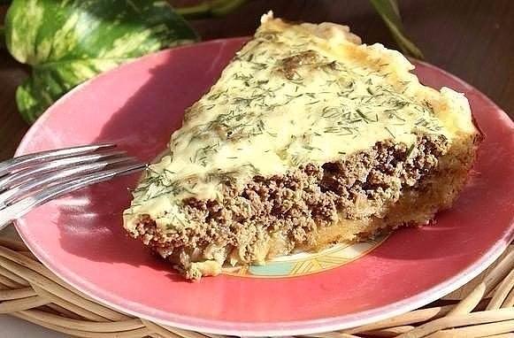 Песочный открытый печёночный пирог - замечательный рецепт домашней вкусной выпечки
