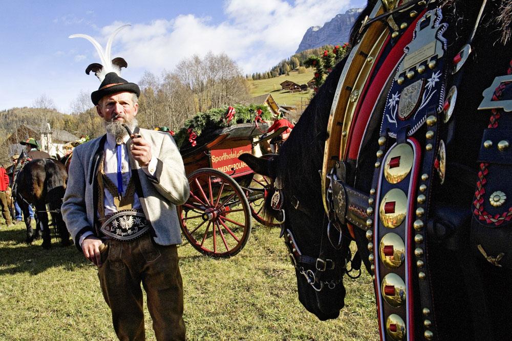 Горные подкаблучники: традиции альпийского народа