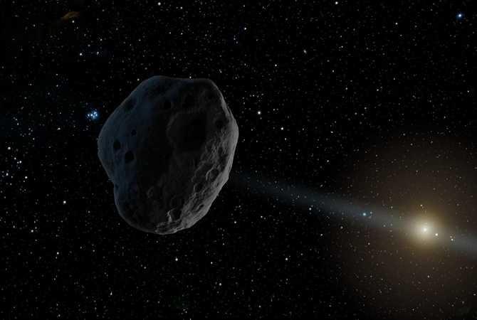 Предсказана возможность падения на Землю крупного астероида в 2022 году