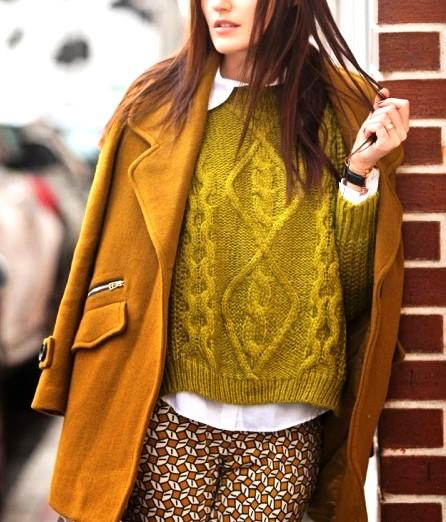 Осень — сезон свитеров, правда?