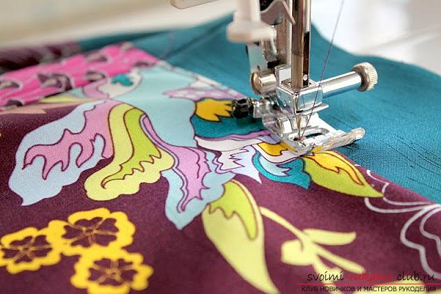 Пошив платья для дочки своими руками по инструкции с фото. Фото №9