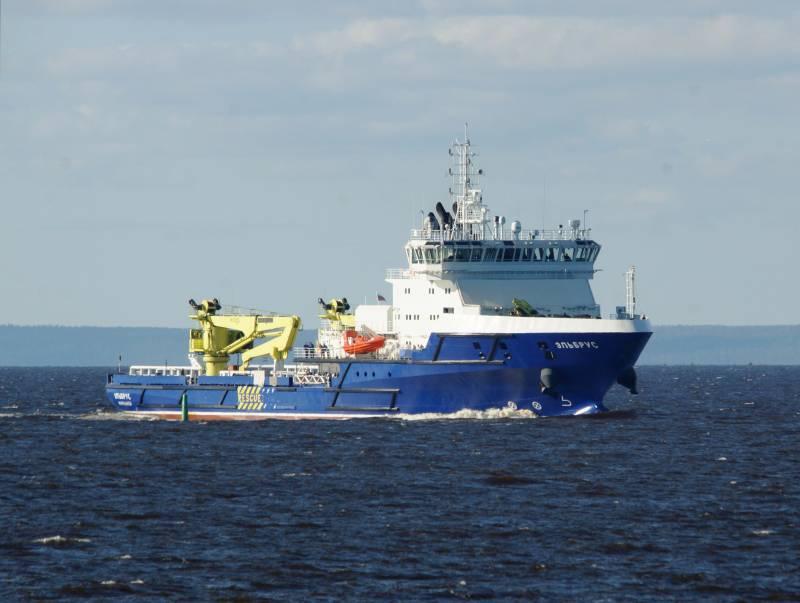 Судно обеспечения «Эльбрус» пройдет завершающий этап испытаний на Северном флоте