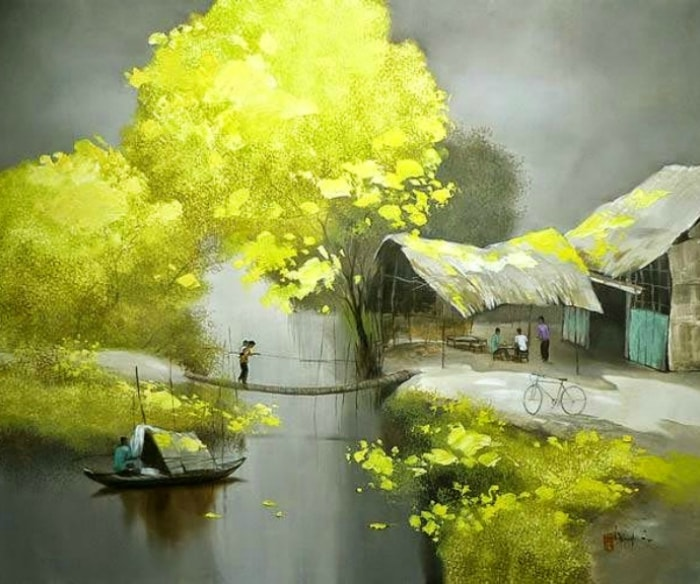 художник Dang Van Can - 02