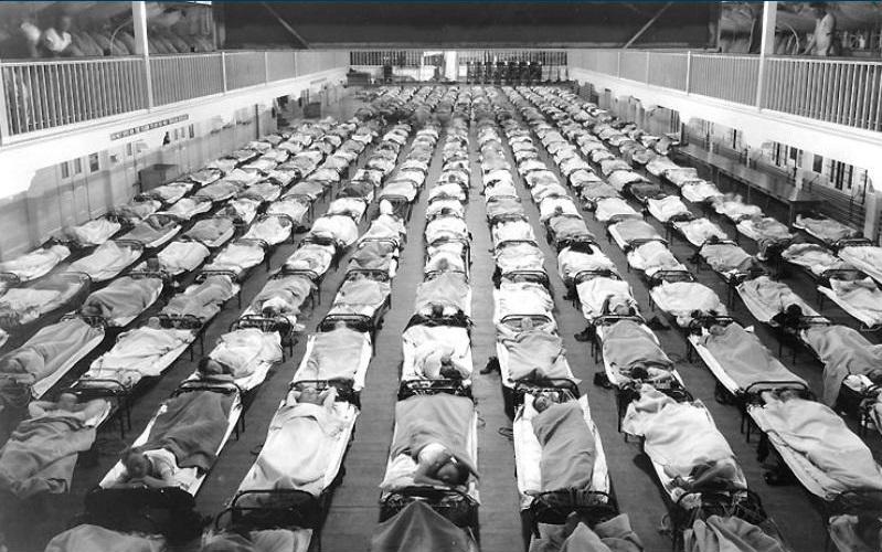 """Болезнь """"Испанка"""" - страшнейшая болезнь в истории человечества"""