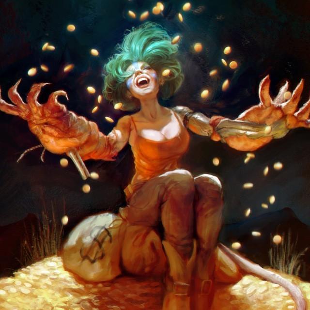 Восхитительные иллюстрации от бразильской художницы Каролины Гарибы