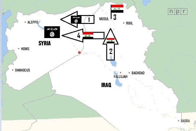 """США вывели своих """"неумеренных"""" из Ирака в Сирию"""