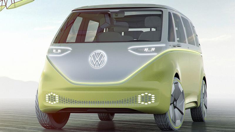 Volkswagen построил полноприводный минивэн на электротяге